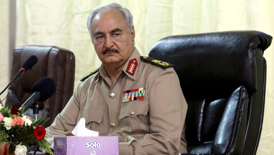 Warlord Haftar: Vergeltung für Widerstand?