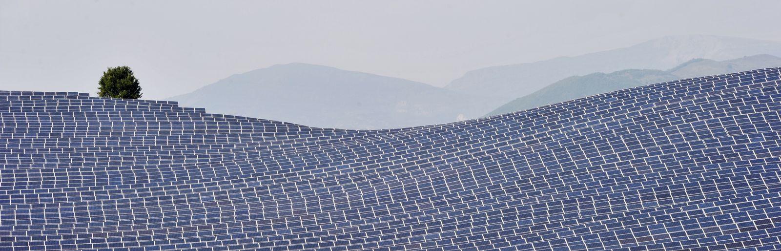 Frankreich/ Solarpark
