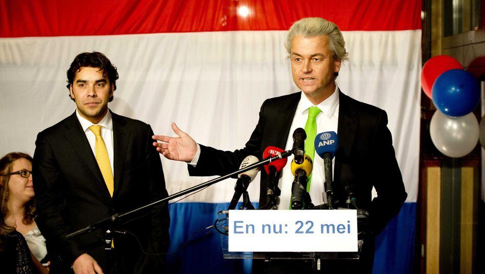 """Rechtspopulist Wilders am Wahlabend: """"Zu weit gegangen"""""""