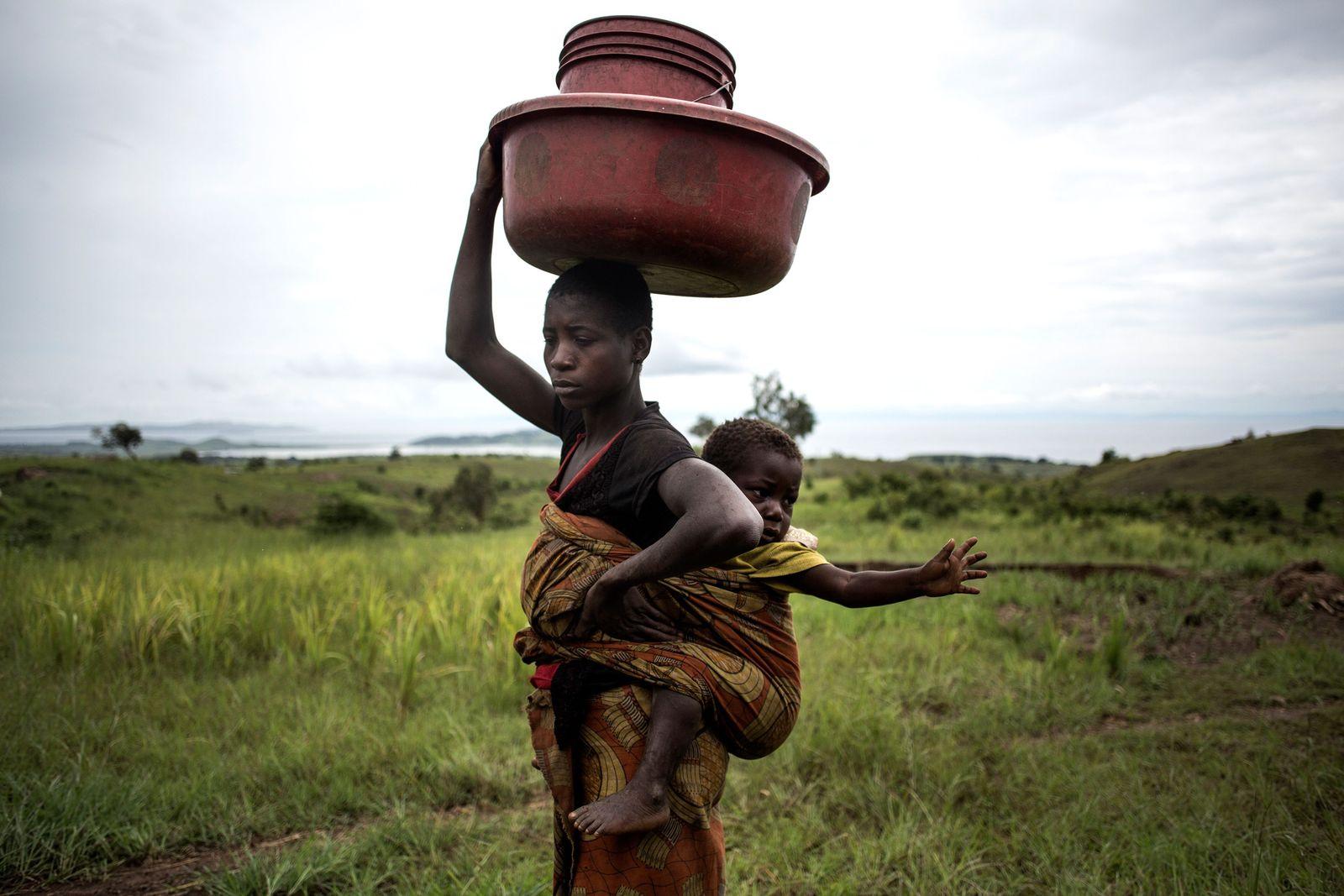 Flüchtling Kongo IDPs
