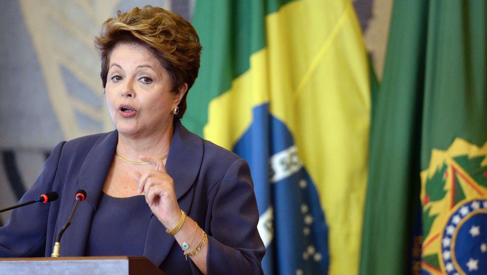 Brasiliens Präsidentin Rousseff: Im Visier der NSA
