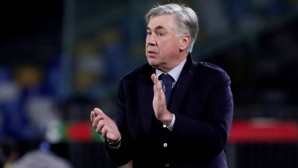 Carlo Ancelotti ist neuer Trainer des FC Everton
