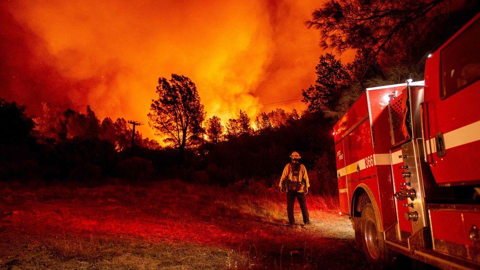 Waldbrände in Butte County, Kalifornien