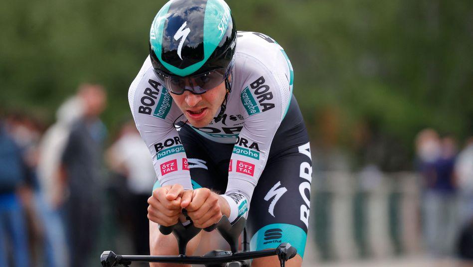 Emanuel Buchmann will beim Giro nach oben