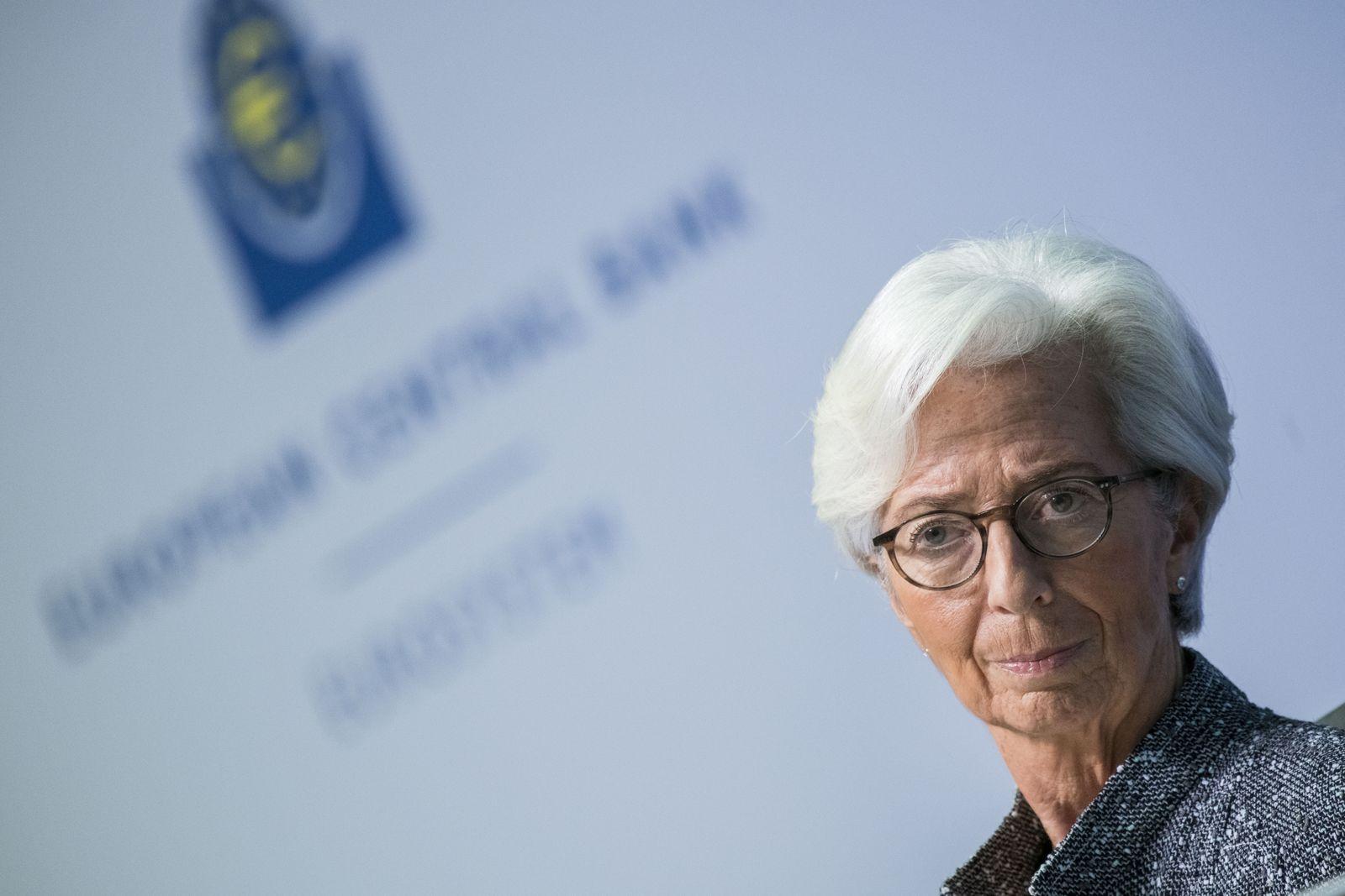 Christine Lagarde / EZB / Europäische Zentralbank