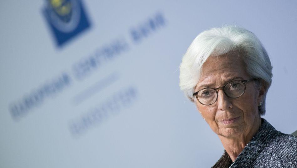 EZB-Chefin Christine Lagarde (im März 2020): Mitspielerin statt Schiedsrichterin