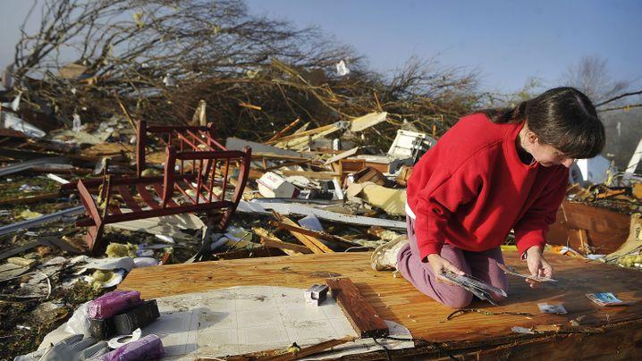 Tornados in den USA: Spur der Verwüstung