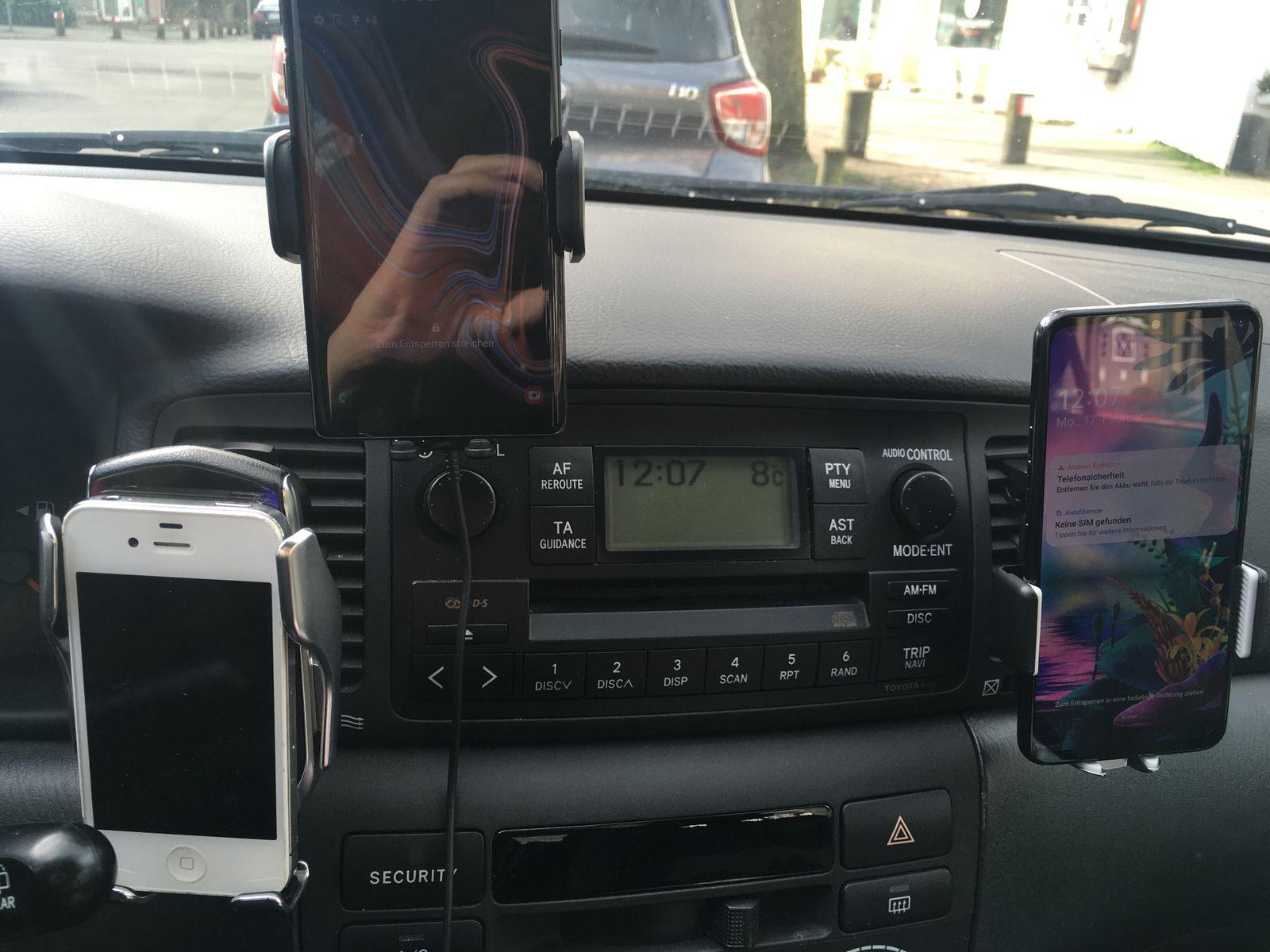 Testseller/ Autohalterungen für Smartphones