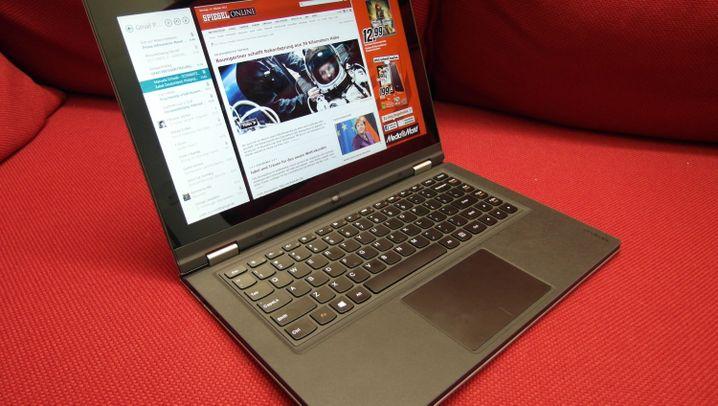 Ein total verdrehter Computer: Lenovo IdeaPad Yoga im Test