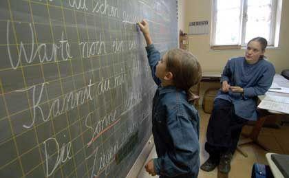 Heimunterricht: Auf keinen Fall in eine öffentliche Schule