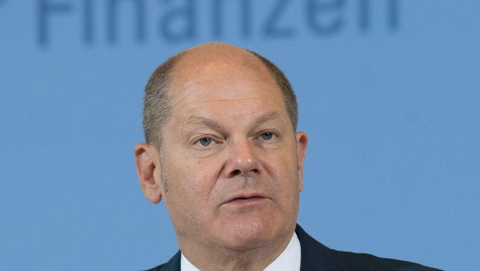 Finanzminister Scholz (SPD): Lob aus der GroKo - Drohung von der FDP