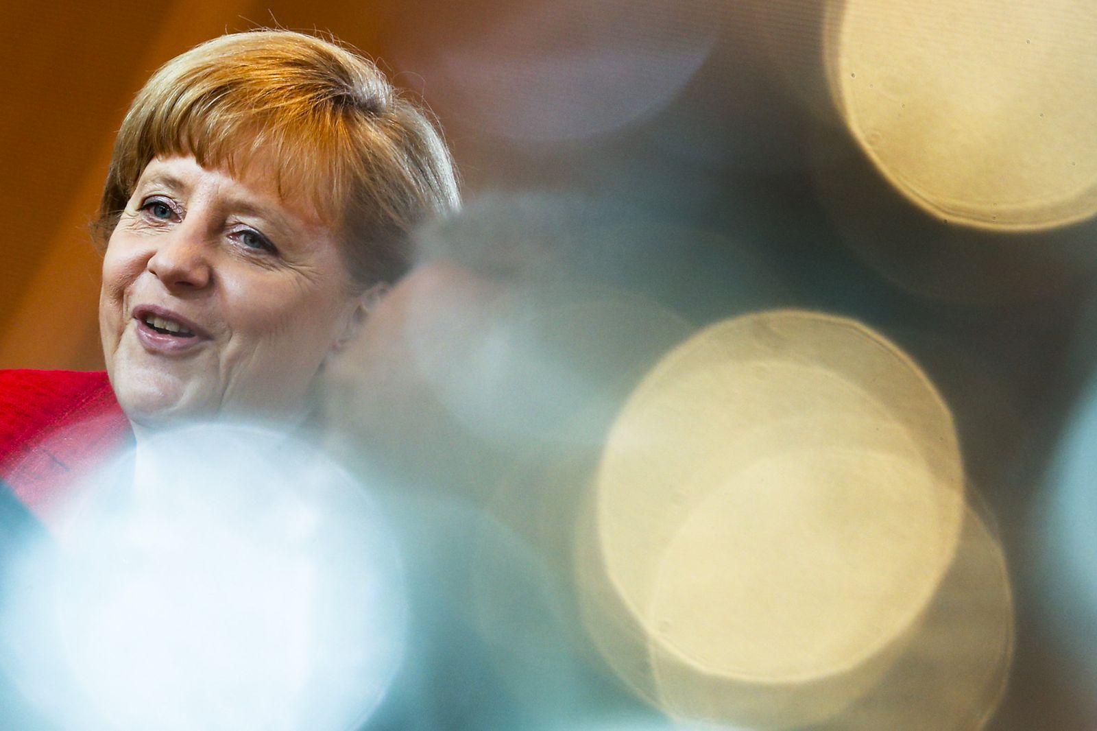 Angela Merkel Lichter