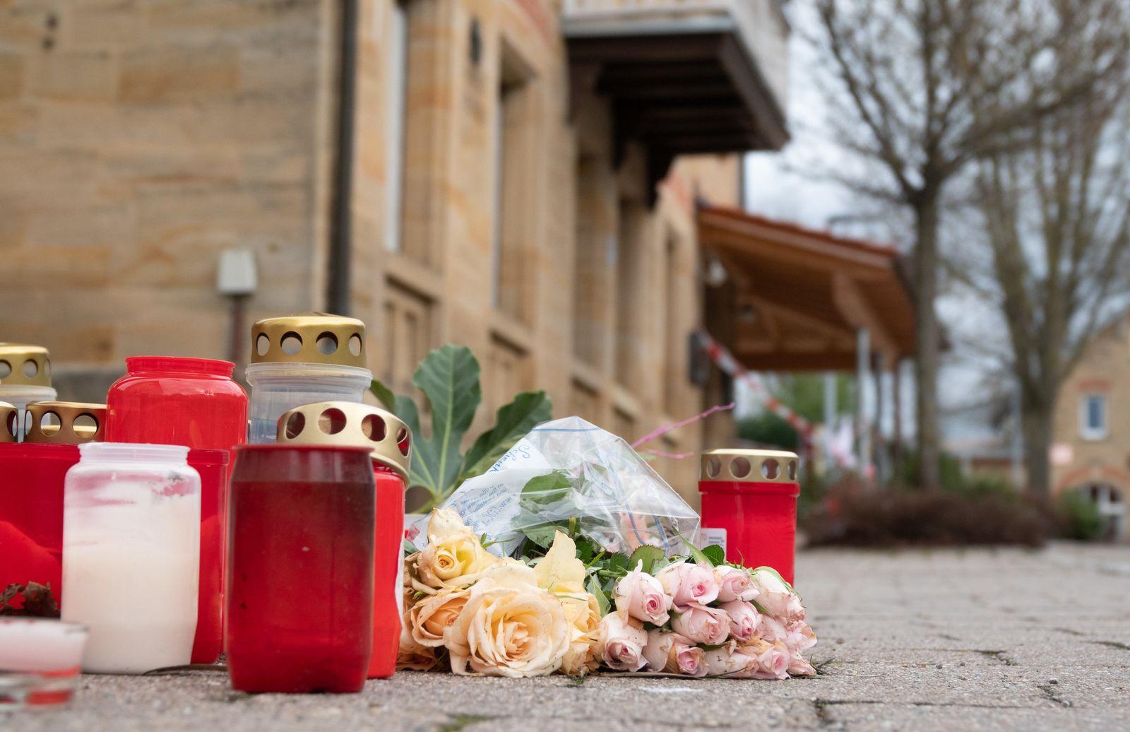 Trauerfeier und Bestattungen nach Bluttat in Rot am See