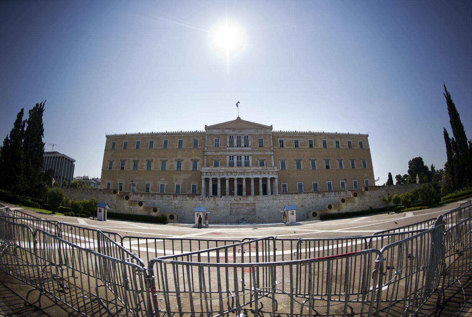 Griechenland/ Athen/ Parlament XXL