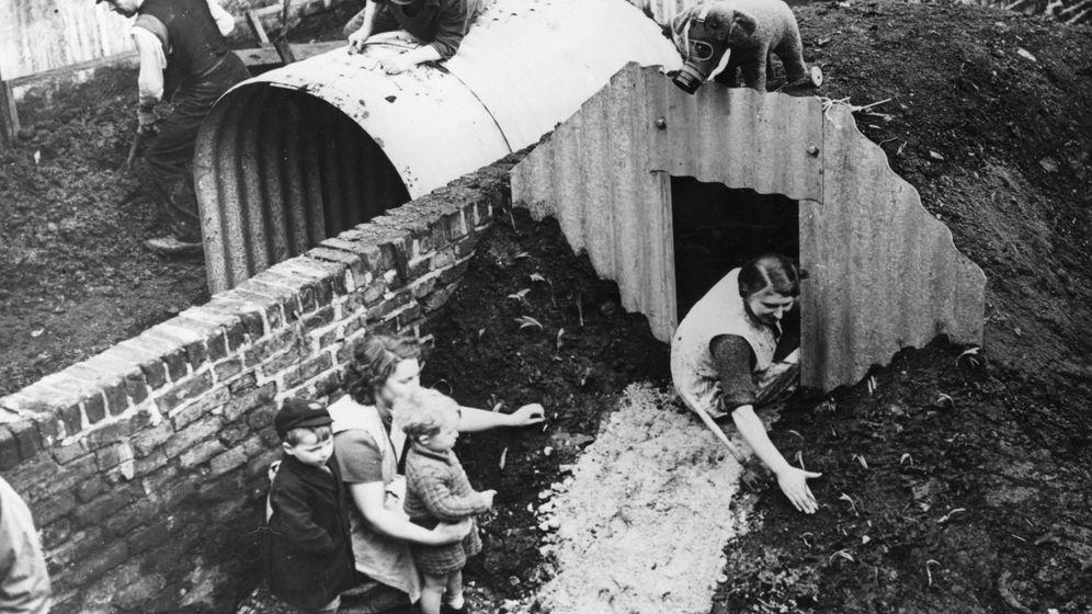 Anderson-Bunker: Als die Briten unter Gemüse Schutz suchten