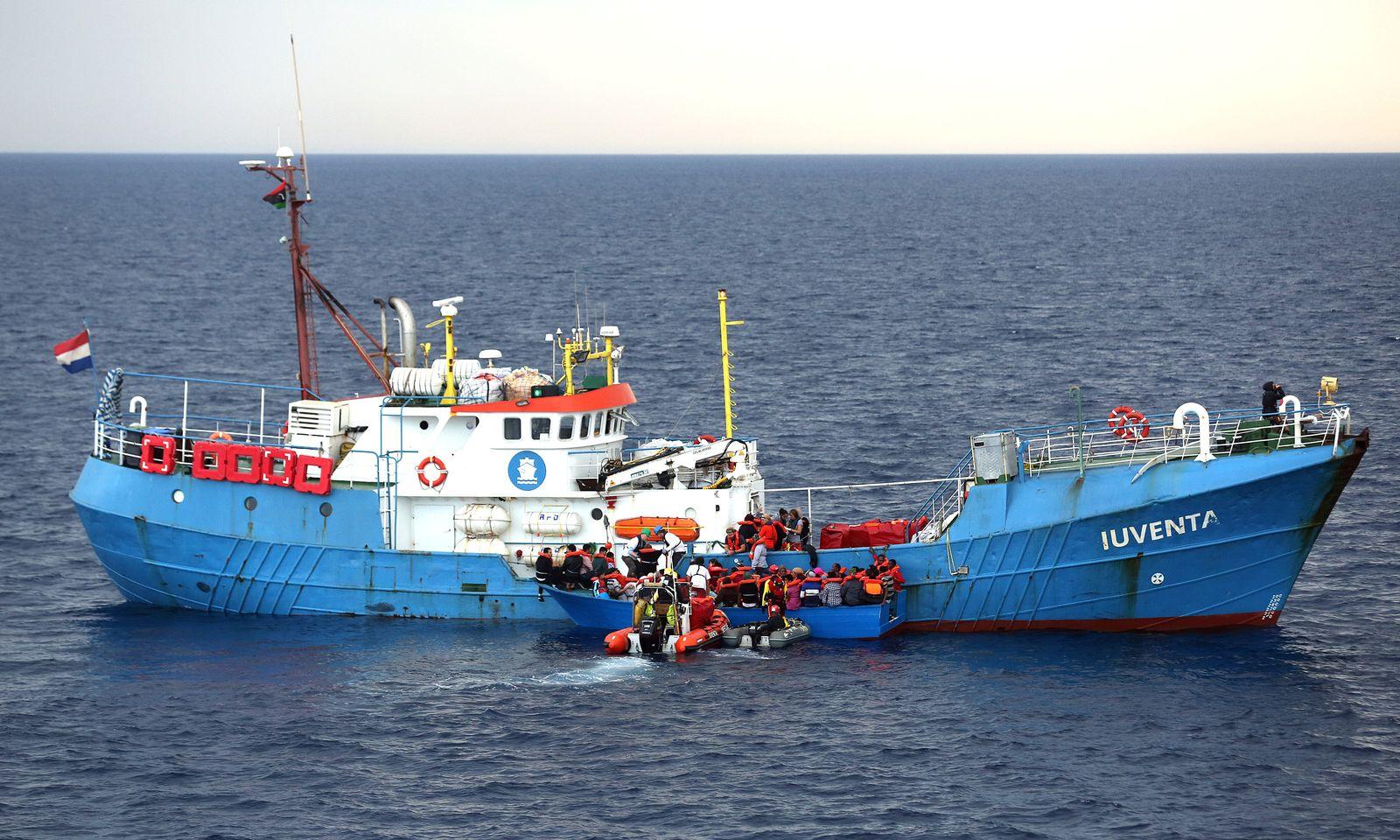 Jugend Rettet/ EUROPE-MIGRANTS/ITALY-NGO