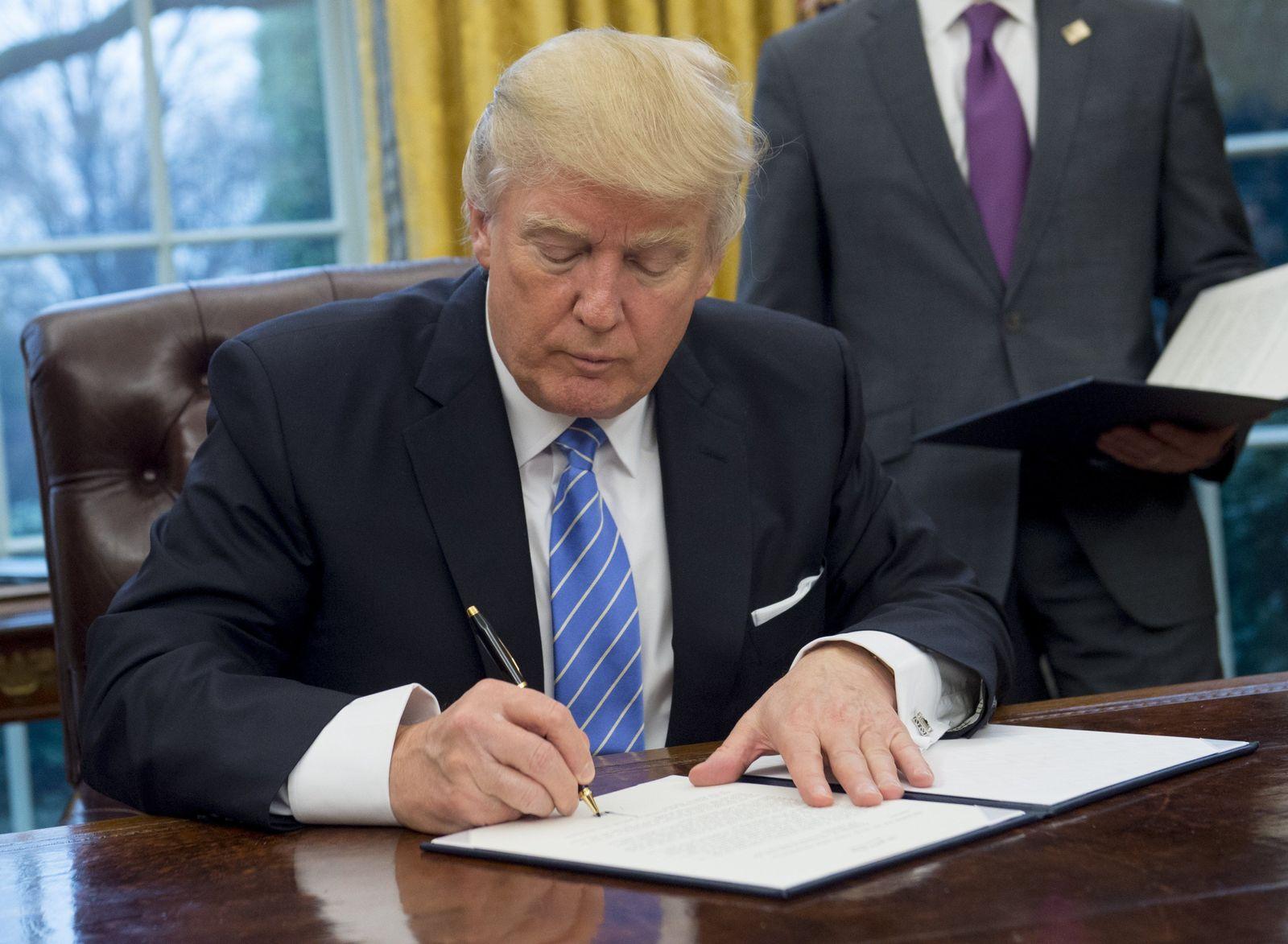 Donald Trump TPP
