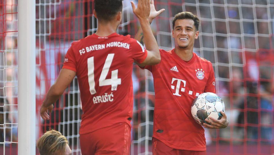 Erstes Heimspiel, erster Heimsieg für Ivan Perisic und Philippe Coutinho