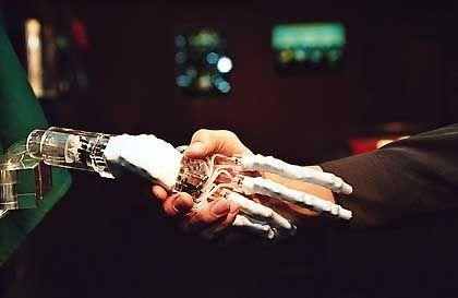 Haben immer noch eiskalte Hände: Roboter