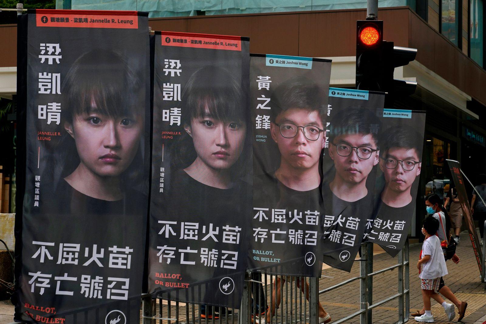 Rund 50 prodemokratische Aktivisten in Hongkong festgenommen
