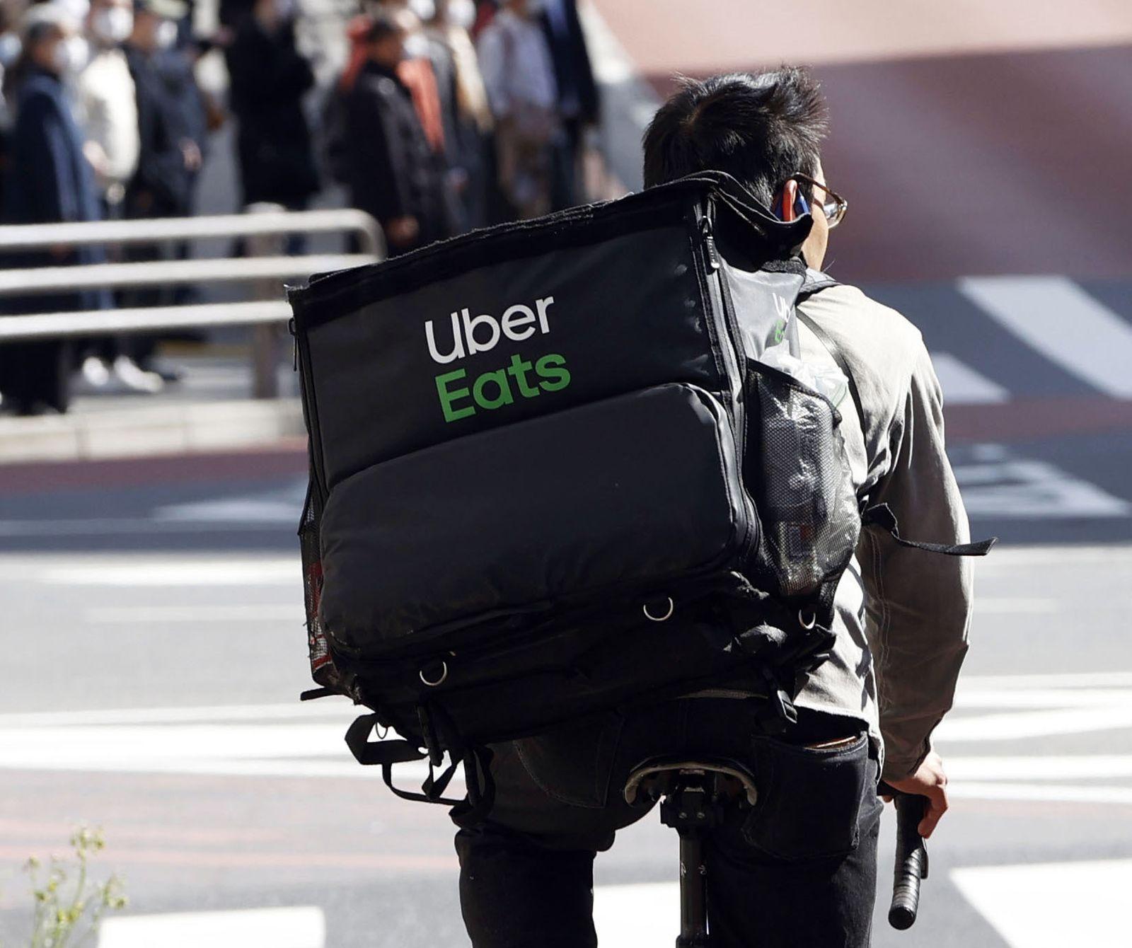 Essenslieferdienst Uber Eats