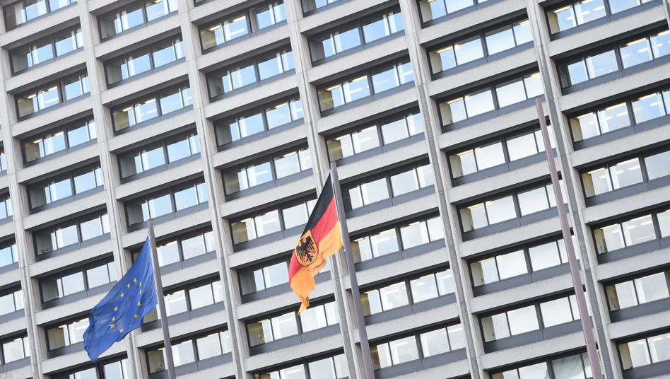 Zentrale der Deutschen Bundesbank in Frankfurt am Main