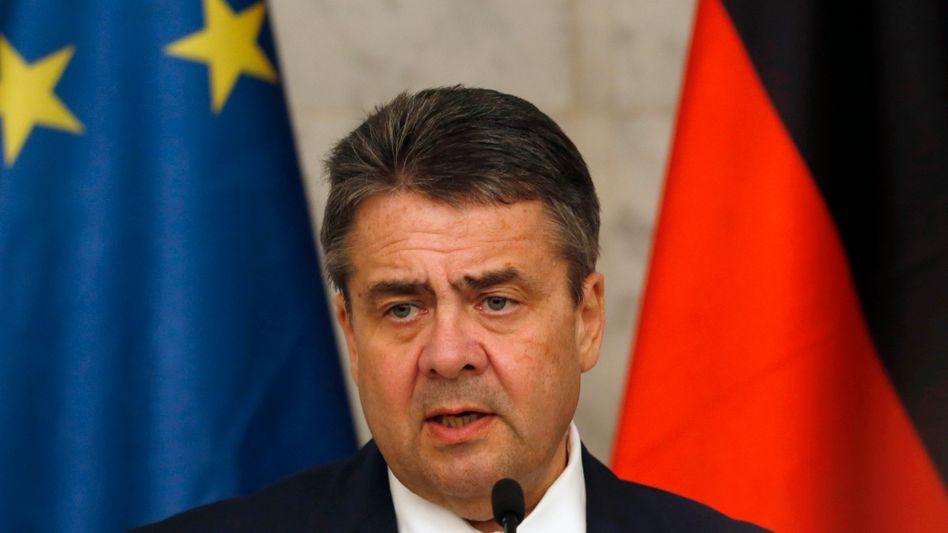 Bundesaußenminister Sigmar Gabriel