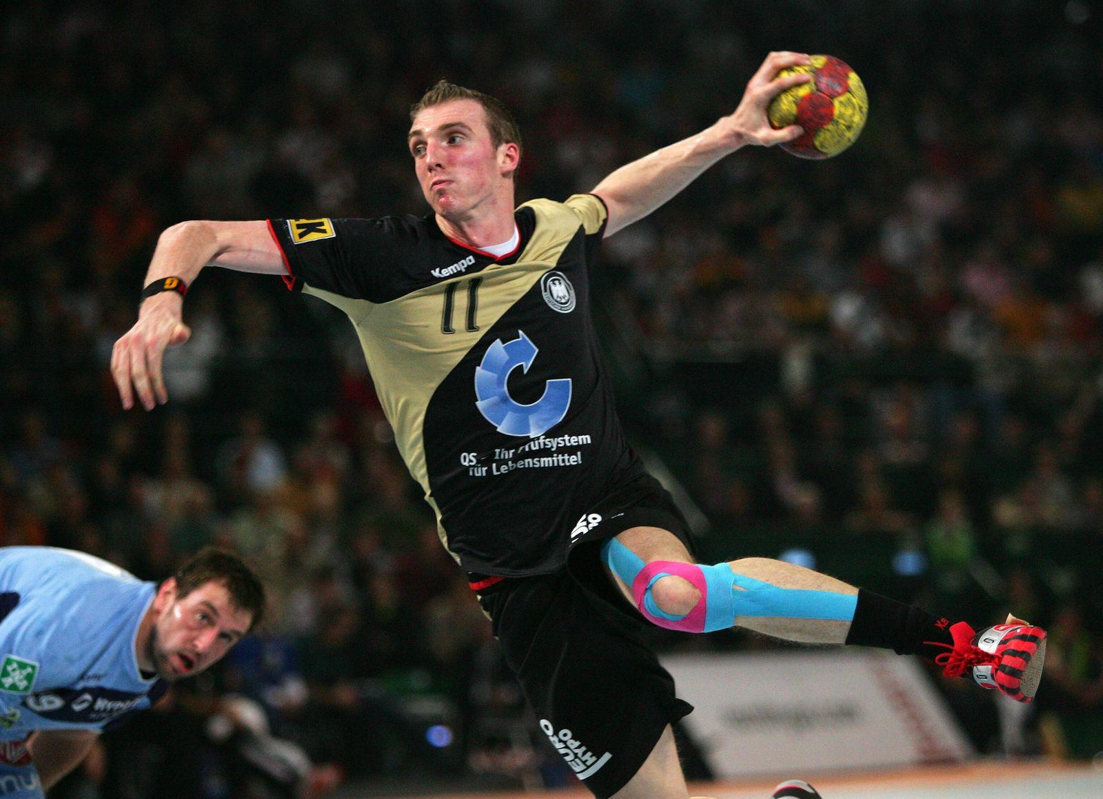 EINMALIGE VERWENDUNG Handball WM/ 2007/ Holger Glandorf