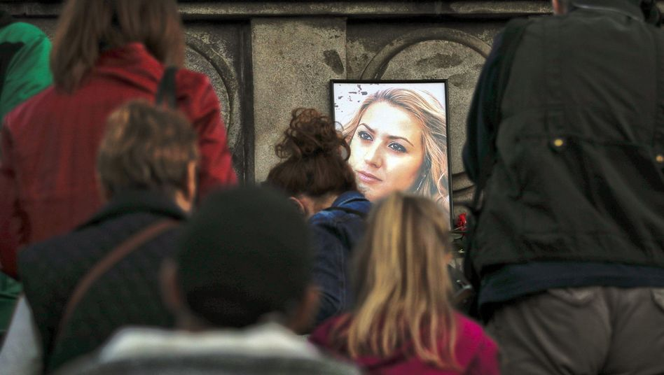 Getötete Journalistin Marinowa
