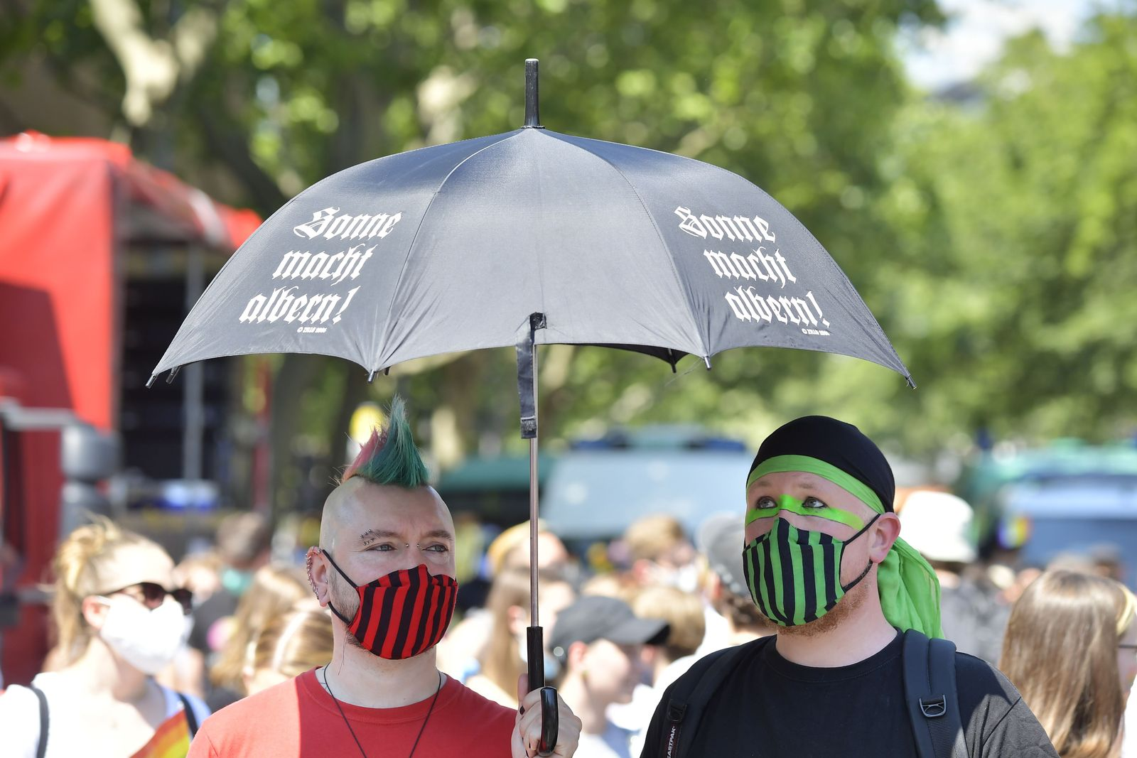 GERMANY-HOMOSEXUALITY-PANDEMIC