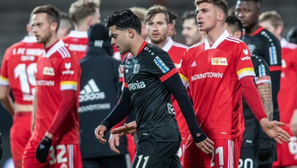 Nadiem Amiri (M.) von Bayer Leverkusen
