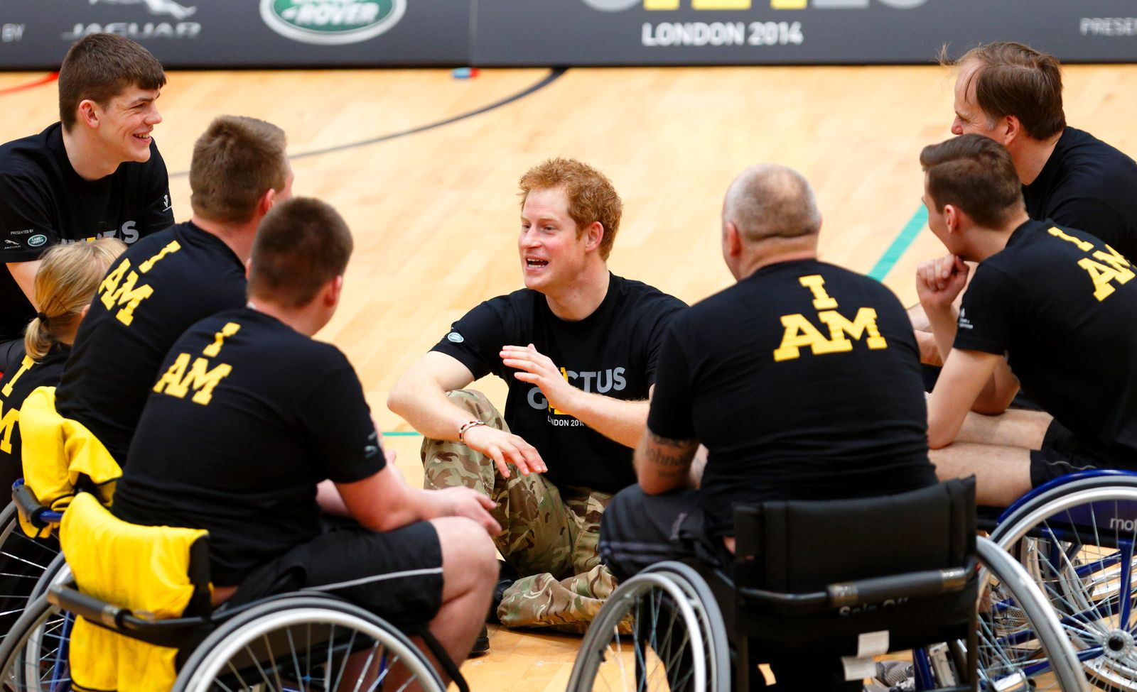Prince Harry and Sir Keith Mills GBE Announce The Invictus Games