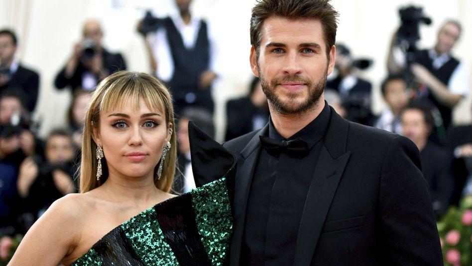 Medienberichte: Scheidung von Miley Cyrus und Liam Hemsworth bewilligt