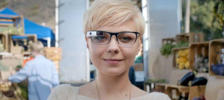 Optisch recht ähnlich: Das bislang bekannte Google-Glass-Modell