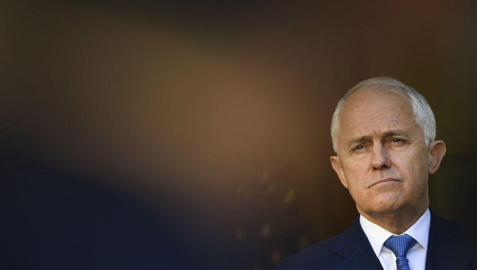 Australiens Premier Malcolm Turnbull