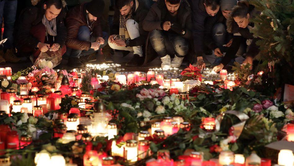 Gedenken an die Opfer des Anschlags in Berlin