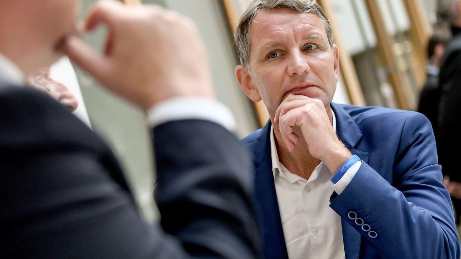 """AfD-Politiker Björn Höcke in Berlin: Organisator des """"Flügels"""" in der Partei"""