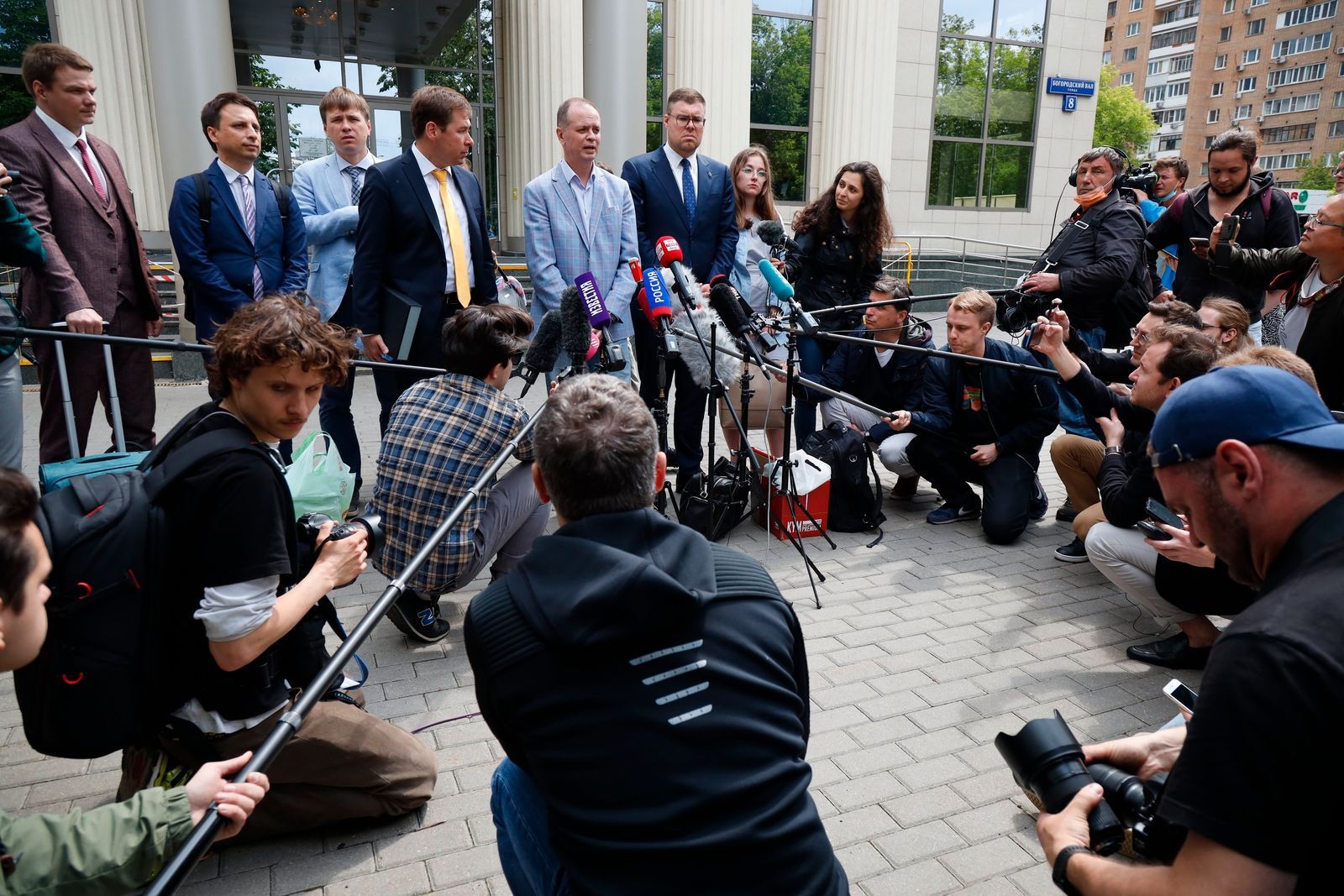 Russischer Anwalt Pawlow