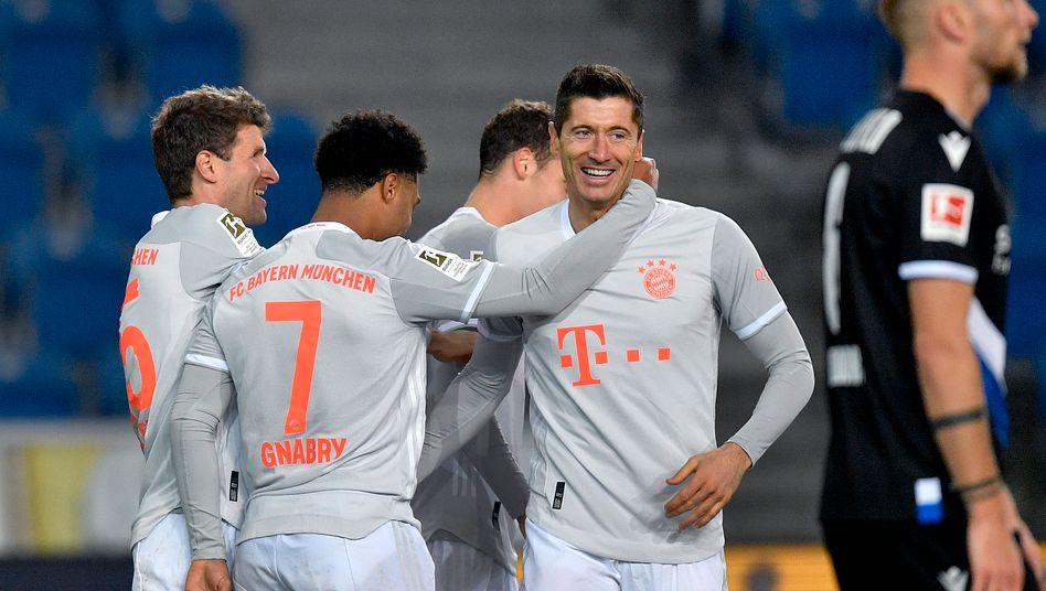 Nicht allzu viel Probleme gegen Bielefeld: Benjamin Pavard