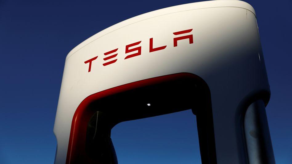 Tesla-Ladestation: Der Wert steigt