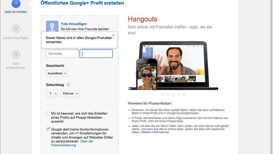 Hangout-Funktion: Auf Google+ abhängen mit der Kanzlerin