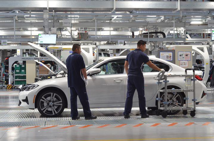 BMW-Werk in Mexiko: Ausbildung nach deutschem System