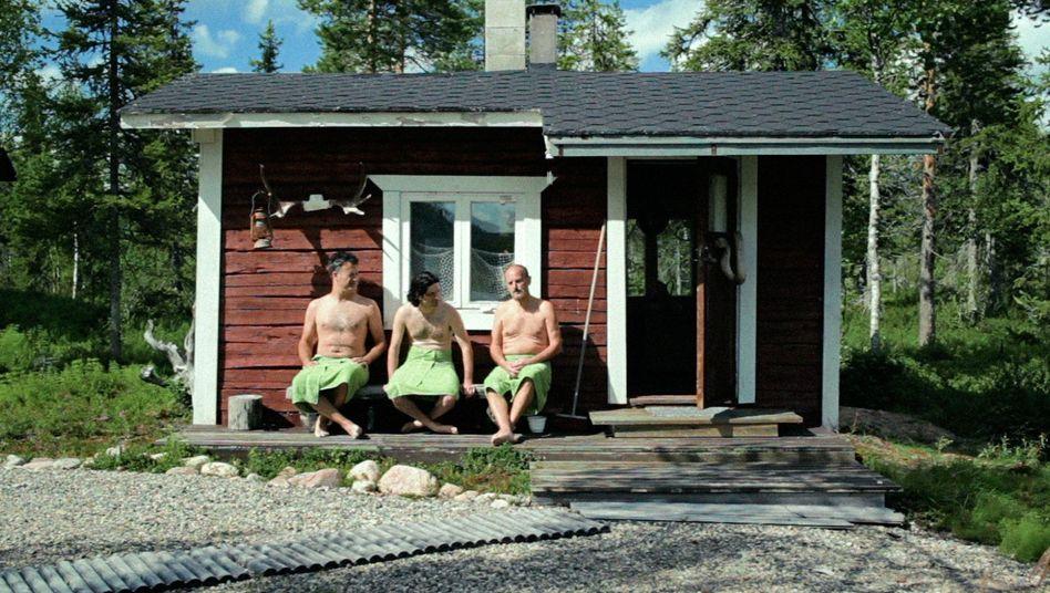 """Dok-Film """"Mittsommernachtstango"""": Hocken drei Männerin der Sauna"""