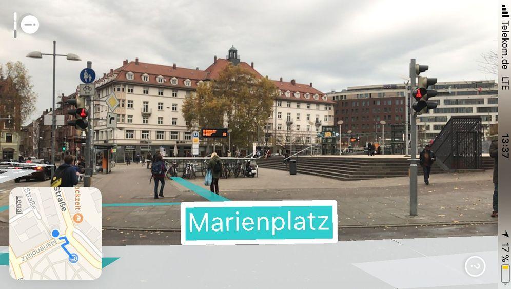 Arcity App Fur Ios 3d Navigation In Der Augmented Reality Der