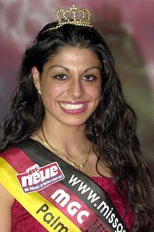Miss Germany 2000: Banu Arif aus Mannheim
