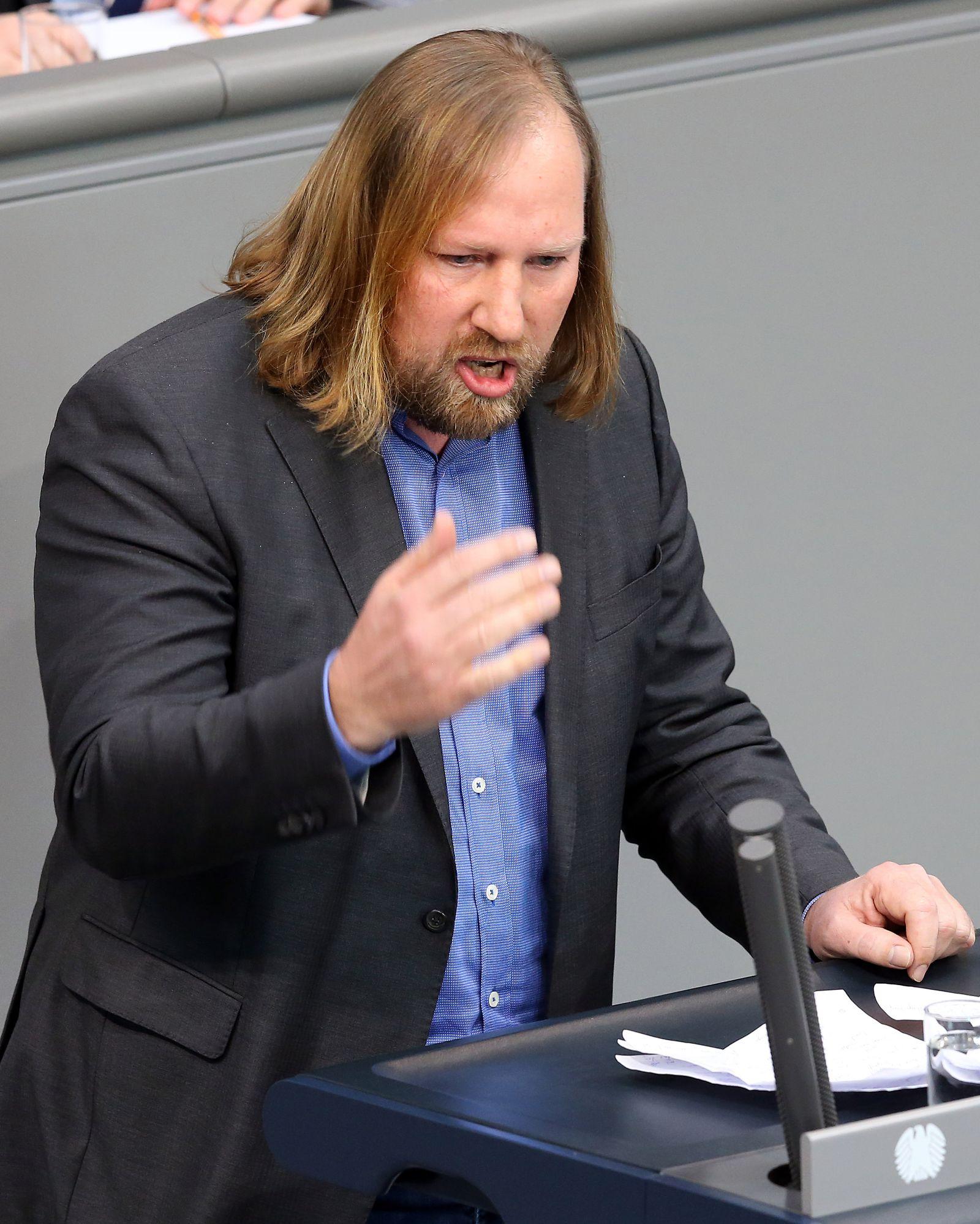 Regierungserklärung/ Bundestag/ Anton Hofreiter
