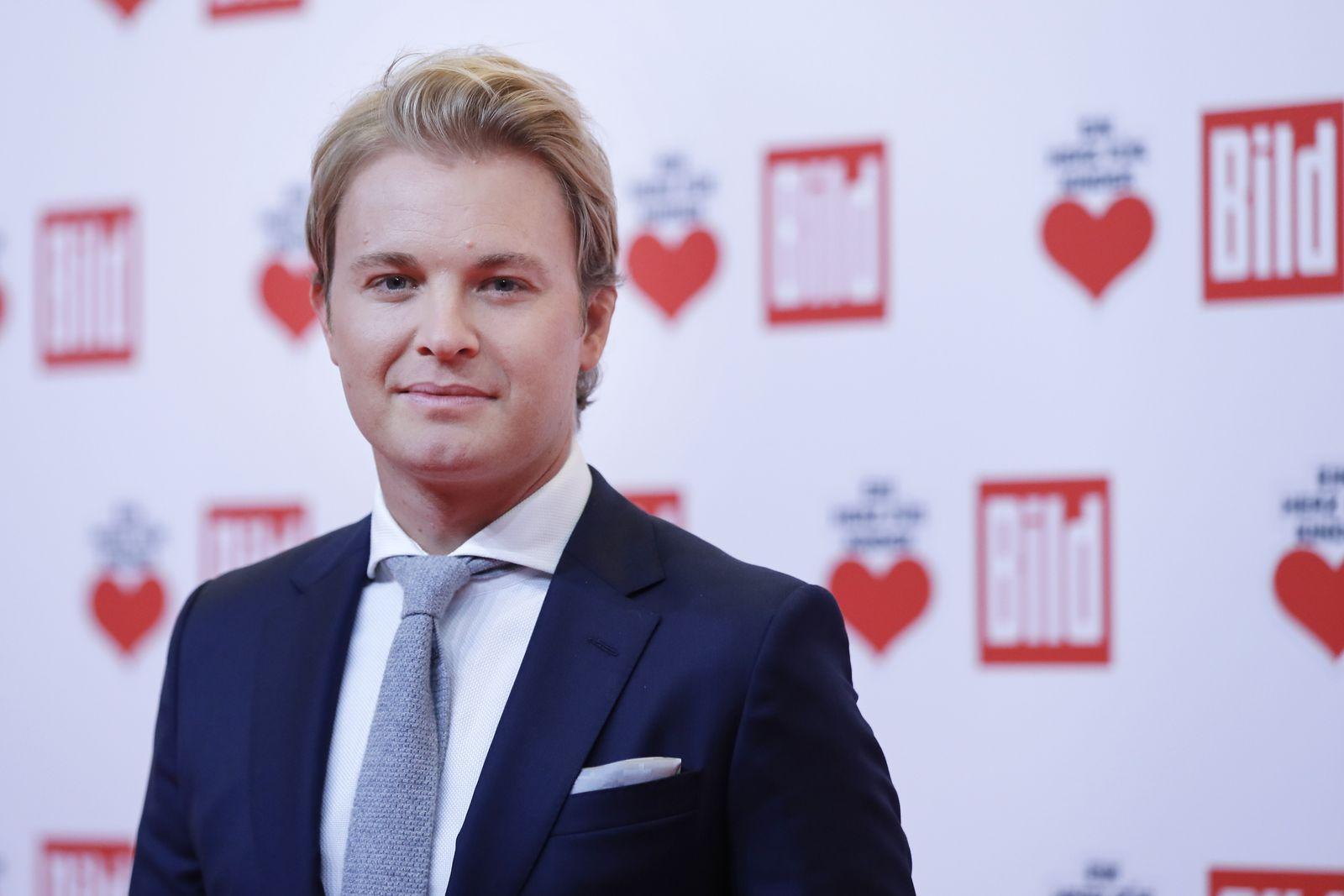 EINMALIGE VERWENDUNG Nico Rosberg
