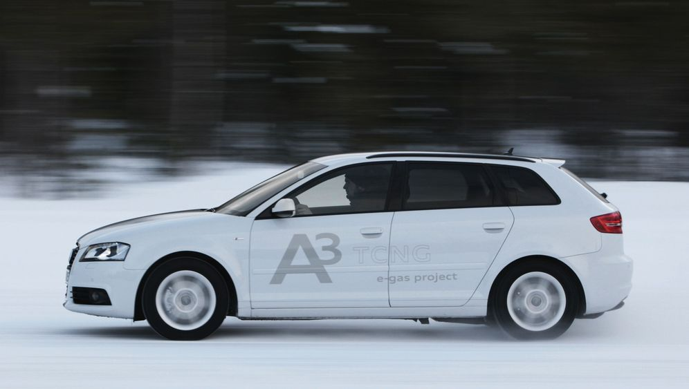 Audi A3 TCNG: Kampf dem CO2-Ausstoß