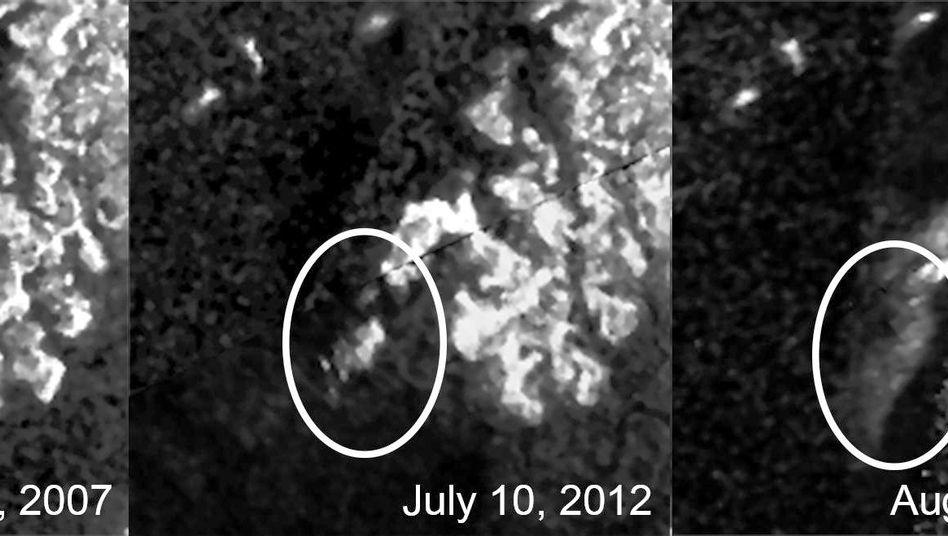 Rätselhafte Erscheinung auf Mond Titan: Mal da, mal weg