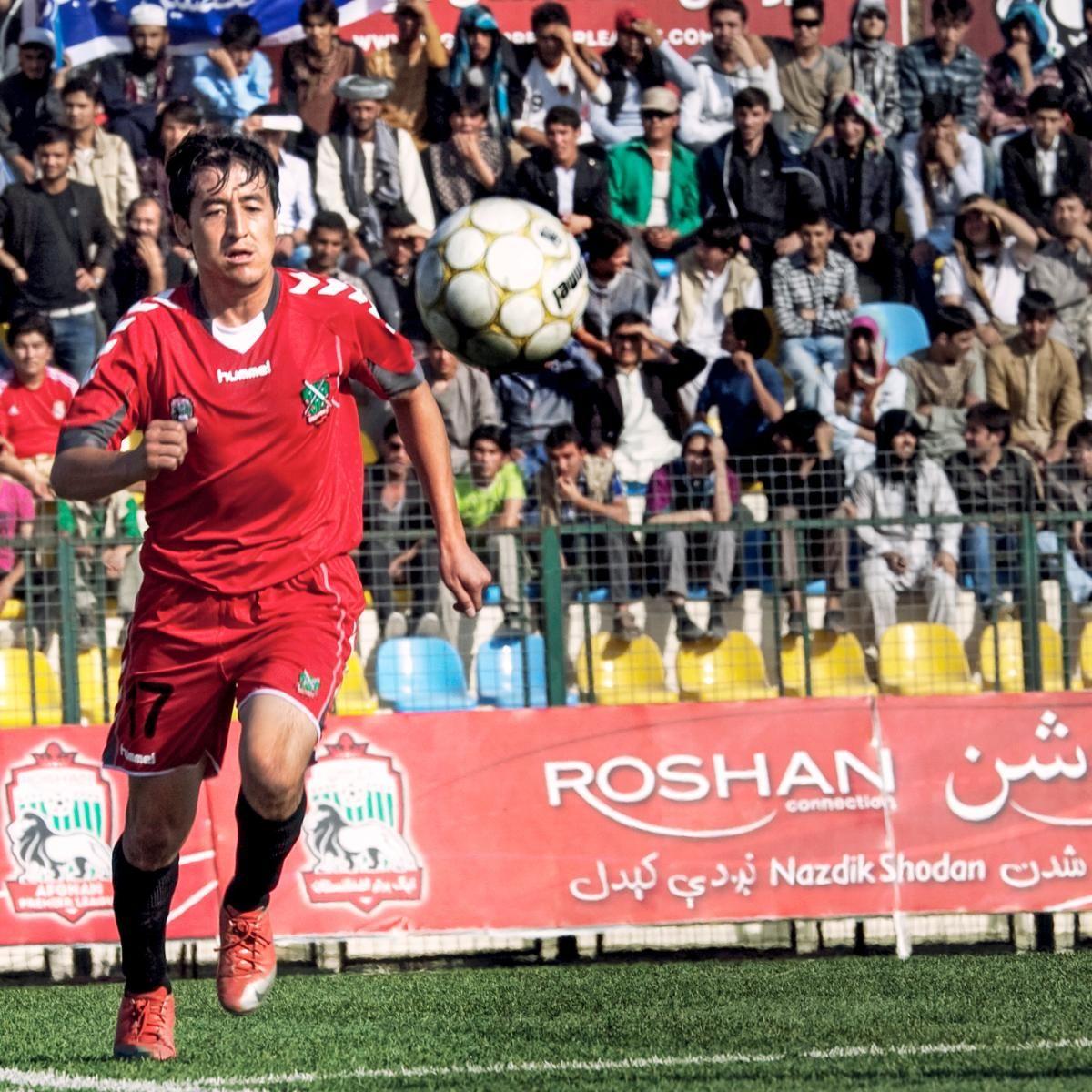 EINMALIGE VERWENDUNG Halbfinale Fußball Afghanistan